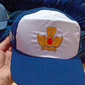 tukang bordir topi Bangli